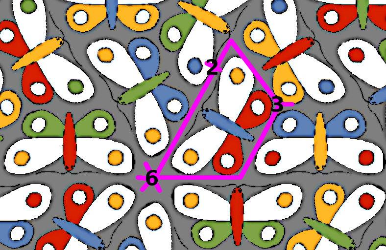 Escher's Butterflies :: mathr