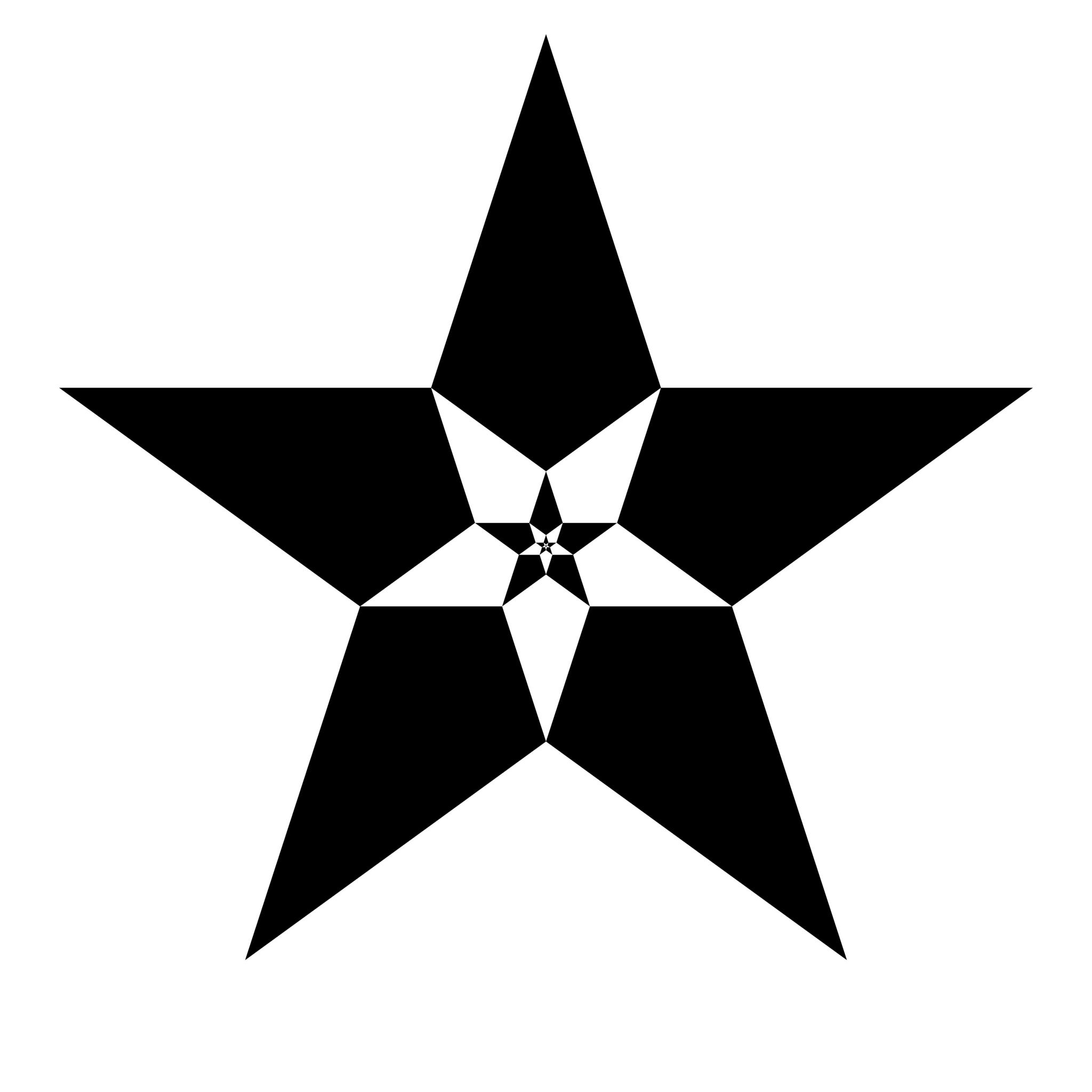 Recursive star polygons :: mathr